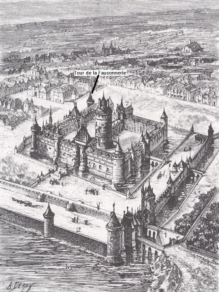 Quai du Louvre sous Charles V